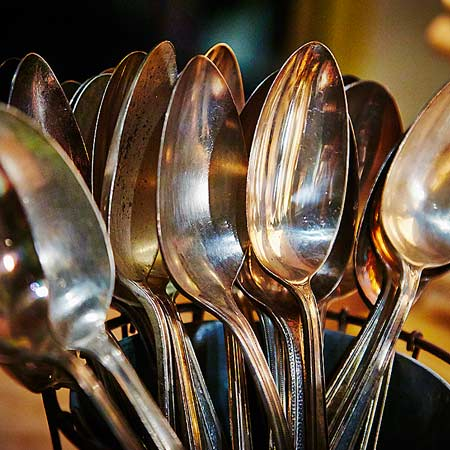 spoon silver photo