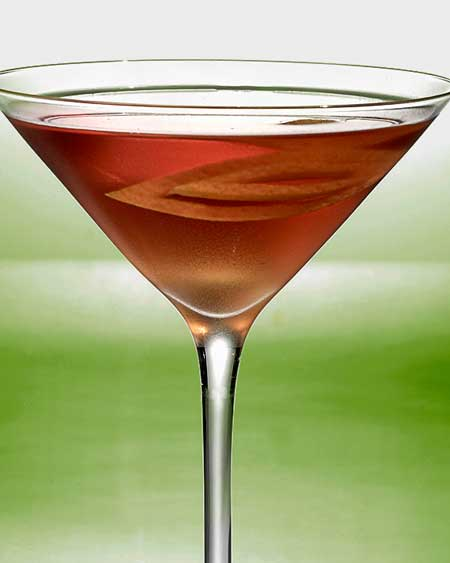 apple martini beverage phtography