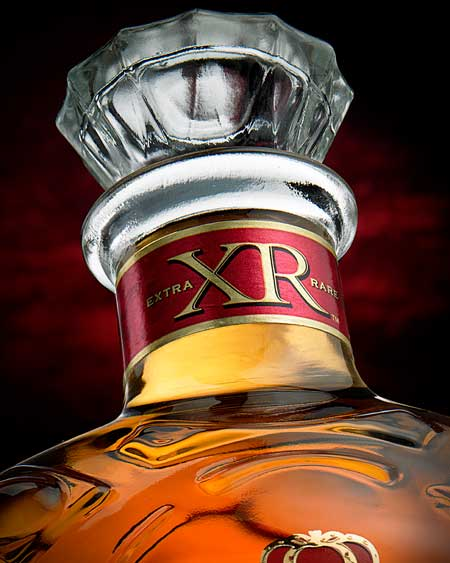 crown royal beverage photography
