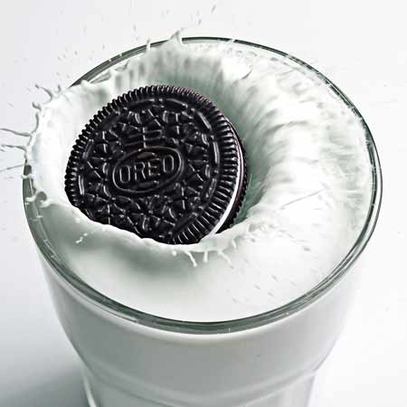 oreo splash photography by bret wills