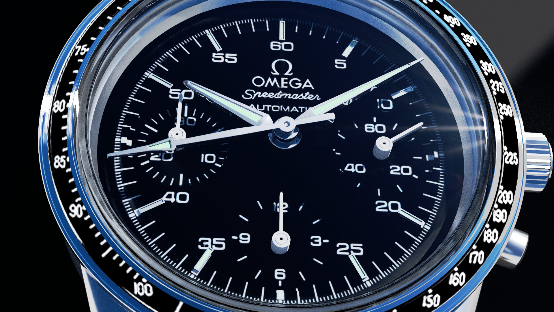 omega speedmaster ©2015 by bret wills